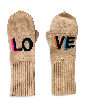 Love On Repeat Cashmere Pop Top Mittens