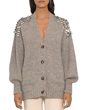 Cora Sequined Shoulder Cardigan