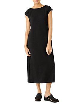 Eileen Fisher - Boatneck Midi Dress