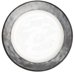 Juliska Pewter Stoneware Round Side Plate