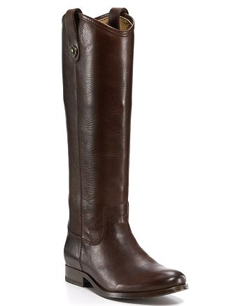 Frye - Melissa Button Extended Calf Riding Boots