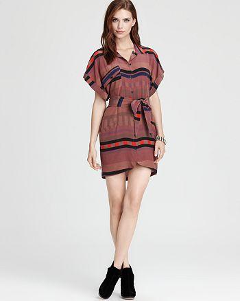Vena Cava - Color Block Silk Clinton Dress