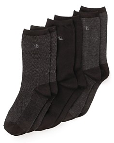 Ralph Lauren Tweed Trouser Socks, Set of 3 - Bloomingdale's_0