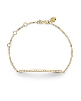 Meira T - 14K Yellow Gold Bar Bracelet