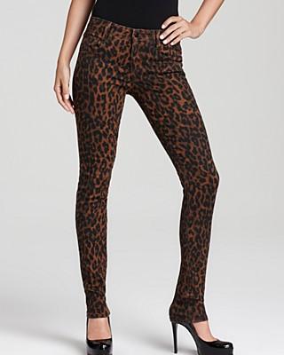 Forever 21 Jungle Leopard Skinny Jeans