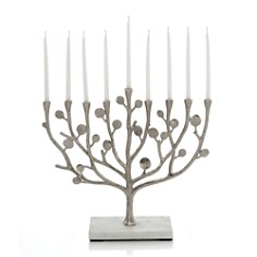 Michael Aram Botanical Leaf Menorah - Bloomingdale's Registry_0