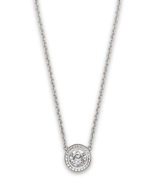 Diamond Pendant In 14K White Gold, .25 ct. - 100% Exclusive