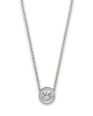 Diamond Pendant In 14K White Gold, .25 ct. - 100% Exclusive