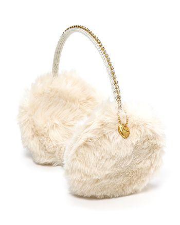 Juicy Couture Black Label - Juicy Couture Girls' Faux Fur Earmuffs