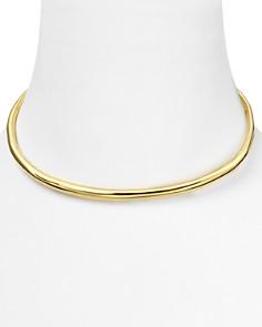 Alexis Bittar - Necklace - Liquid Gold Thin Collar