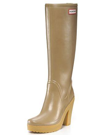 buy online 47c01 8d7aa Hunter Rain Boots - Lonny High-Heel | Bloomingdale's