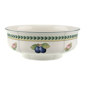 "Villeroy & Boch - ""French Garden"" Fleurence Round Vegetable Bowl, 9.75"""