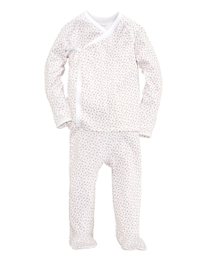 Ralph Lauren Childrenswear Girls Layette Kimono Top  Footie Pants Set  Baby