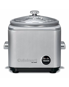 Cuisinart - Brushed Stainless Steel Rice Cooker