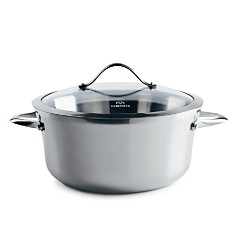 Calphalon - Contemporary Stainless Steel 6.5qt Covered Soup Pot by Calphalon
