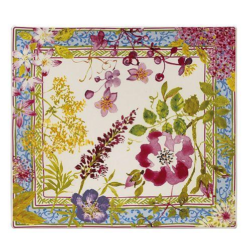 Gien France - Mille Fleur Square Serving Plate