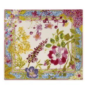 Gien France Mille Fleur Square Serving Plate