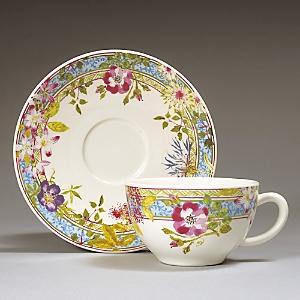 Gien France Mille Fleur Breakfast Cup