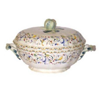 Gien France - Toscana Covered Vegetable Bowl