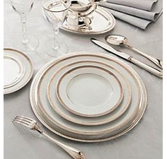 Christofle - Malmaison Dinnerware Collection