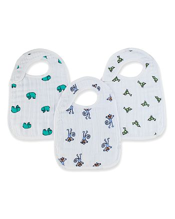 Aden and Anais - Jungle Jam Snap Bibs - Set of 3