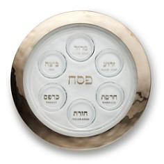 Annieglass Platinum Seder Plate - Bloomingdale's_0