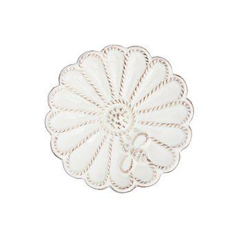 """Juliska - Jardins du Monde Whitewash 3.5"""" Mini Blossom Dish"""