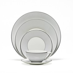 Jasper Conran at Wedgwood Blue Pinstripe Dinnerware - Bloomingdale's_0
