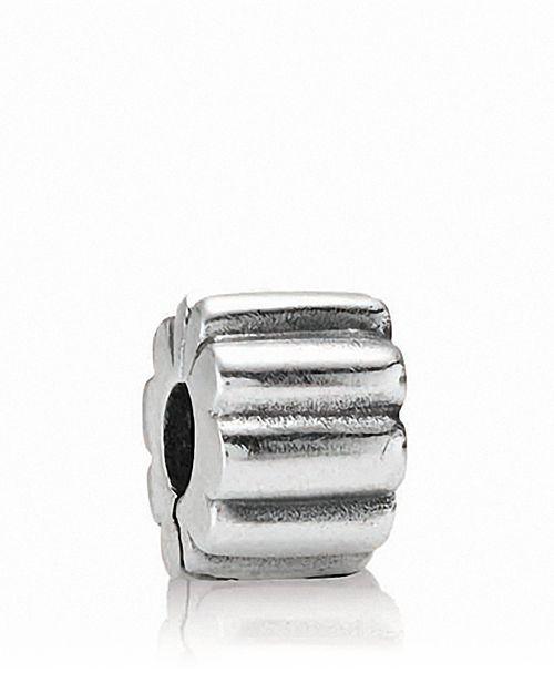 PANDORA - Sterling Silver Ribbed Clip
