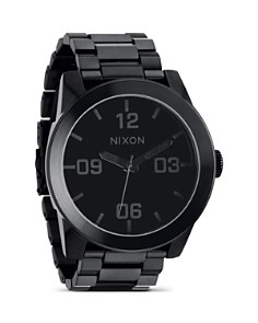 Nixon The Corporal Stainless Steel All Black Watch, 48mm - Bloomingdale's_0