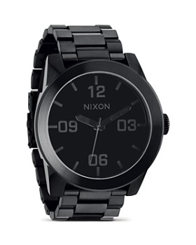 Nixon - The Corporal Stainless Steel All Black Watch