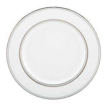 kate spade new york - Library Lane Platinum Salad Plate