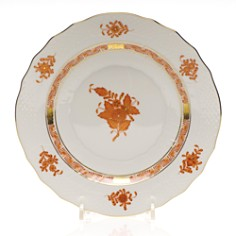 Herend Chinese Bouquet Salad Plate, Rust - Bloomingdale's_0