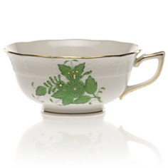Herend Chinese Bouquet Tea Cup, Green - Bloomingdale's_0