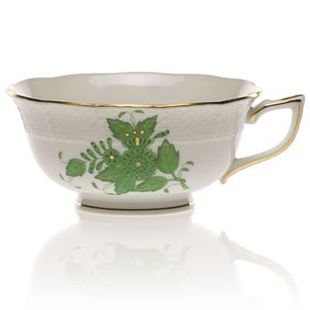 Herend - Chinese Bouquet Tea Cup, Green