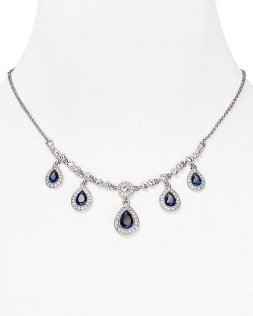 Carolee - Front Pear Drop Necklace, 16""