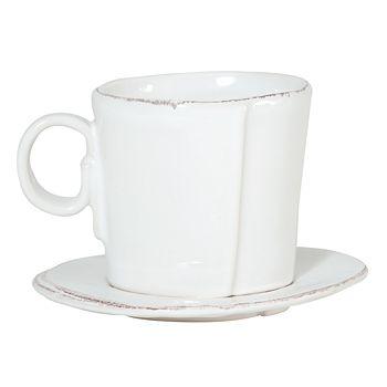 VIETRI - Vietri Lastra Espresso Cup & Saucer
