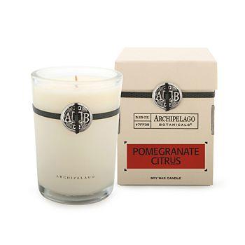 Archipelago - Signature Pomegranate Citrus Boxed Candle