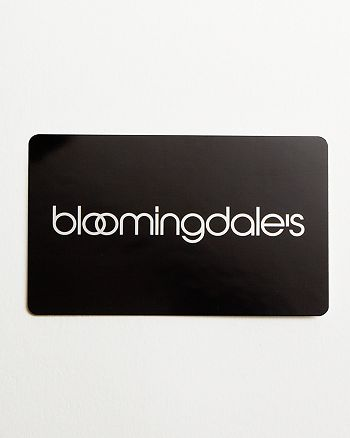 Bloomingdale's - Only at  Gift Card in Black, $1000