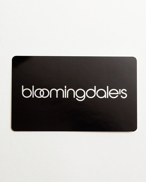 Bloomingdale's - Only at  Gift Card in Black, $200