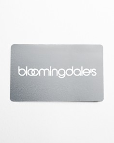 Bloomingdale's - Only at Bloomingdale's Gift Card with White Box Sleeve