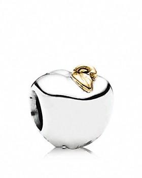 PANDORA - Sterling Silver & 14K Gold Apple of My Eye Charm