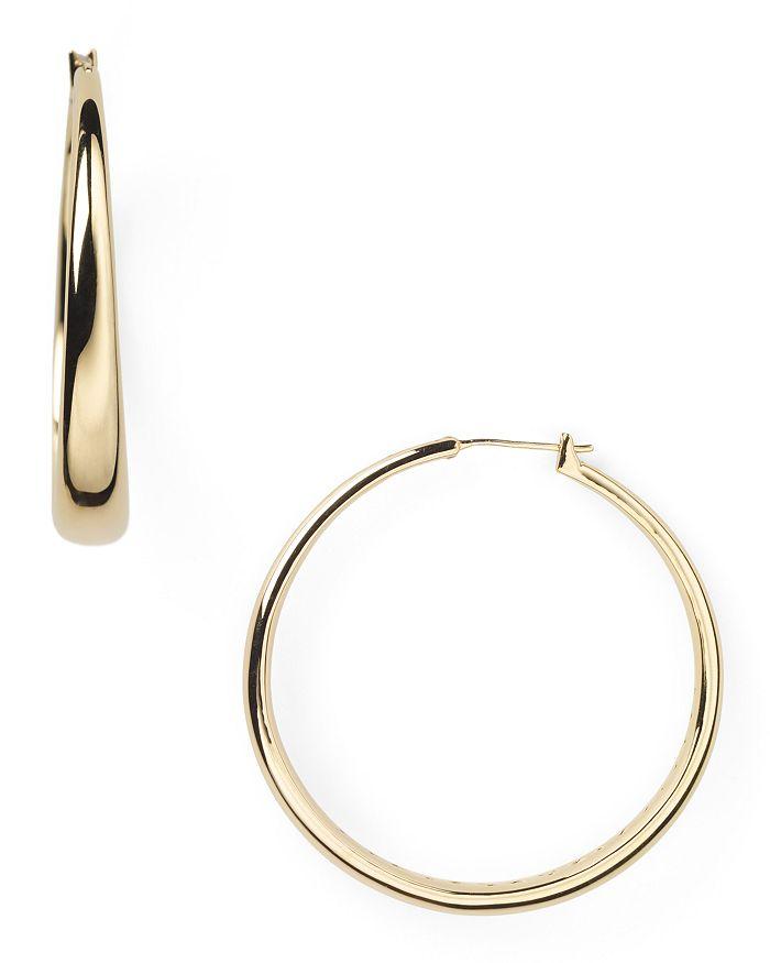 Nadri - Medium Tapered Hoop Earrings