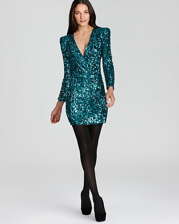 FRENCH CONNECTION - Samantha Sequins Dress