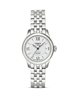 Tissot - Tissot Le Locle Women's Silver Stainless Steel Automatic Watch, 25mm