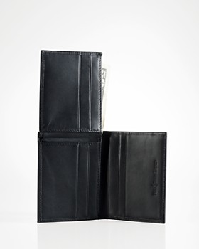 Ralph Lauren - Burnished Leather Window Billfold Wallet
