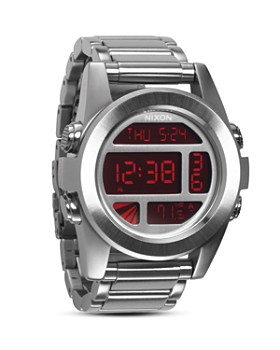 Nixon - The Unit Watch in Silver, 49mm