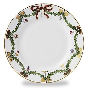 Royal Copenhagen Star Fluted Salad/Dessert Plate