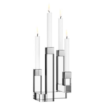 Chimney Two-Arm Candleholder