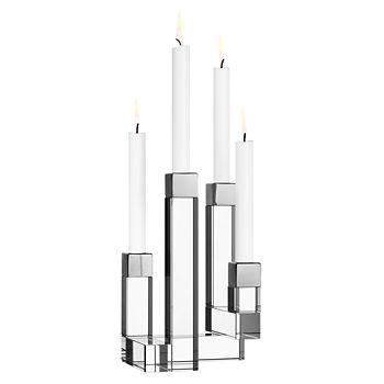 Orrefors - Chimney 4-Arm Candleholder